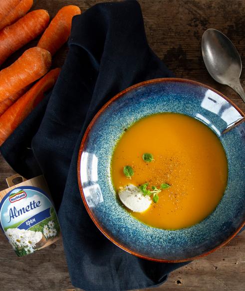 Розігріваючий крем з моркви